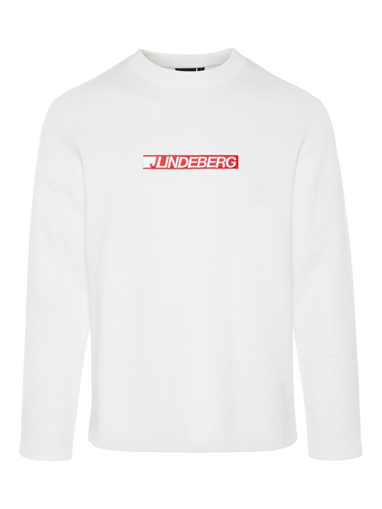 J.LINDEBERG Ade Fine Sweat Sweater Man White