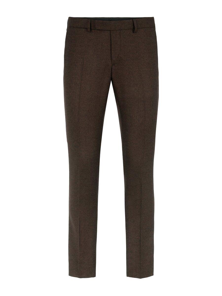 J.LINDEBERG Grant Mouliné Trousers Man Brun