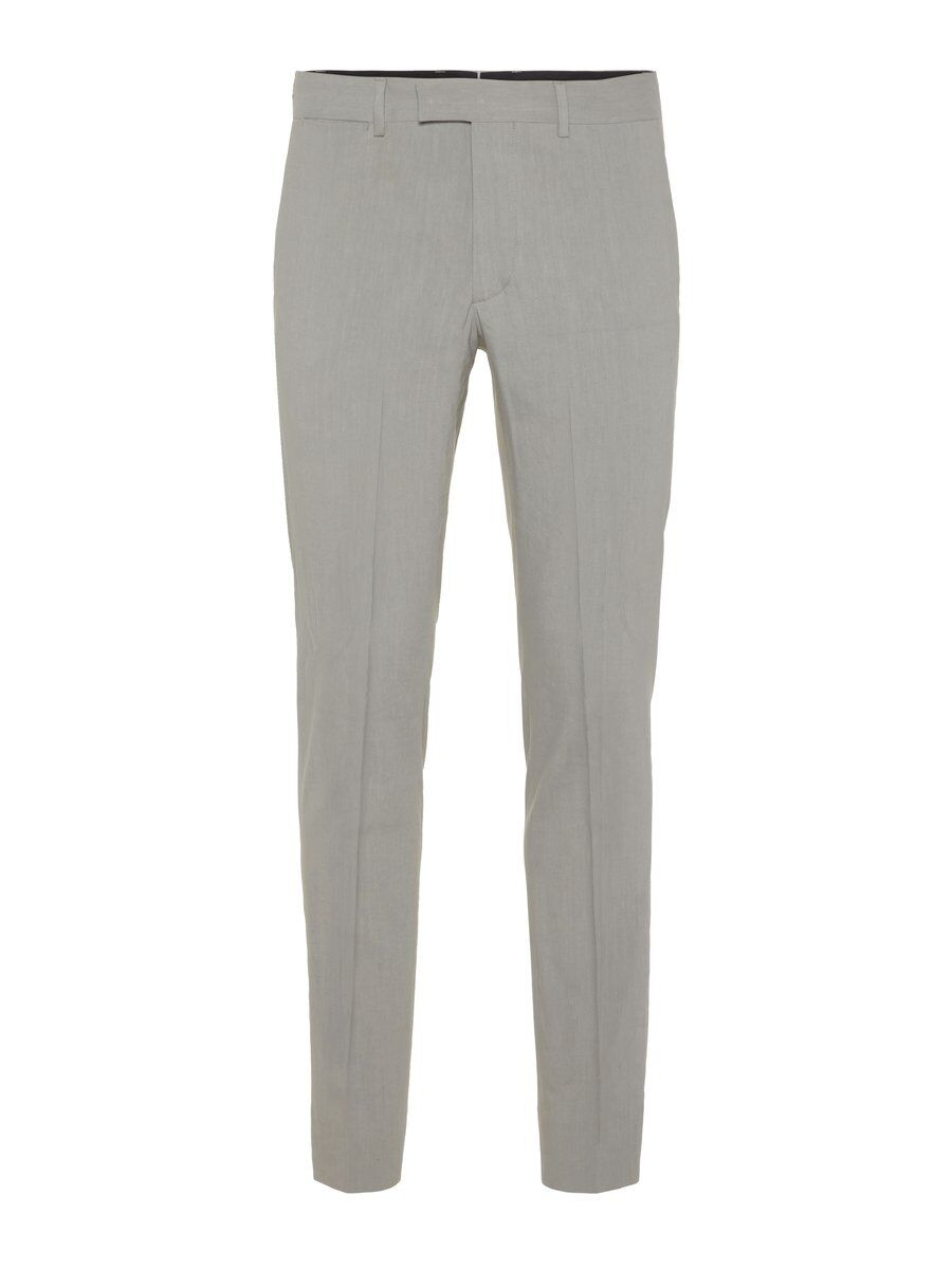 J.LINDEBERG Grant Stretch Linen Trousers Man Grå