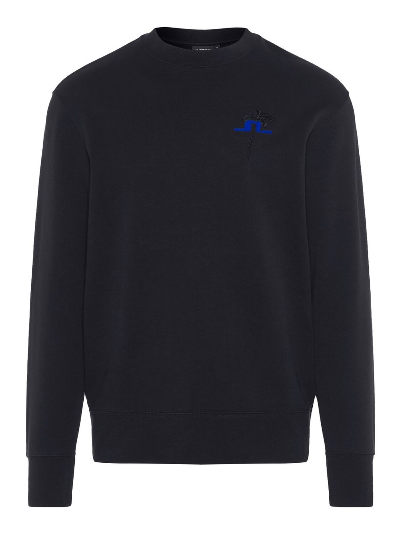 J.LINDEBERG Hurl C-neck Ring Loop Sweat Sweatshirt Man Svart