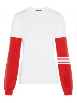J.LINDEBERG Huya Cotton Coolmax Sweater Kvinna White