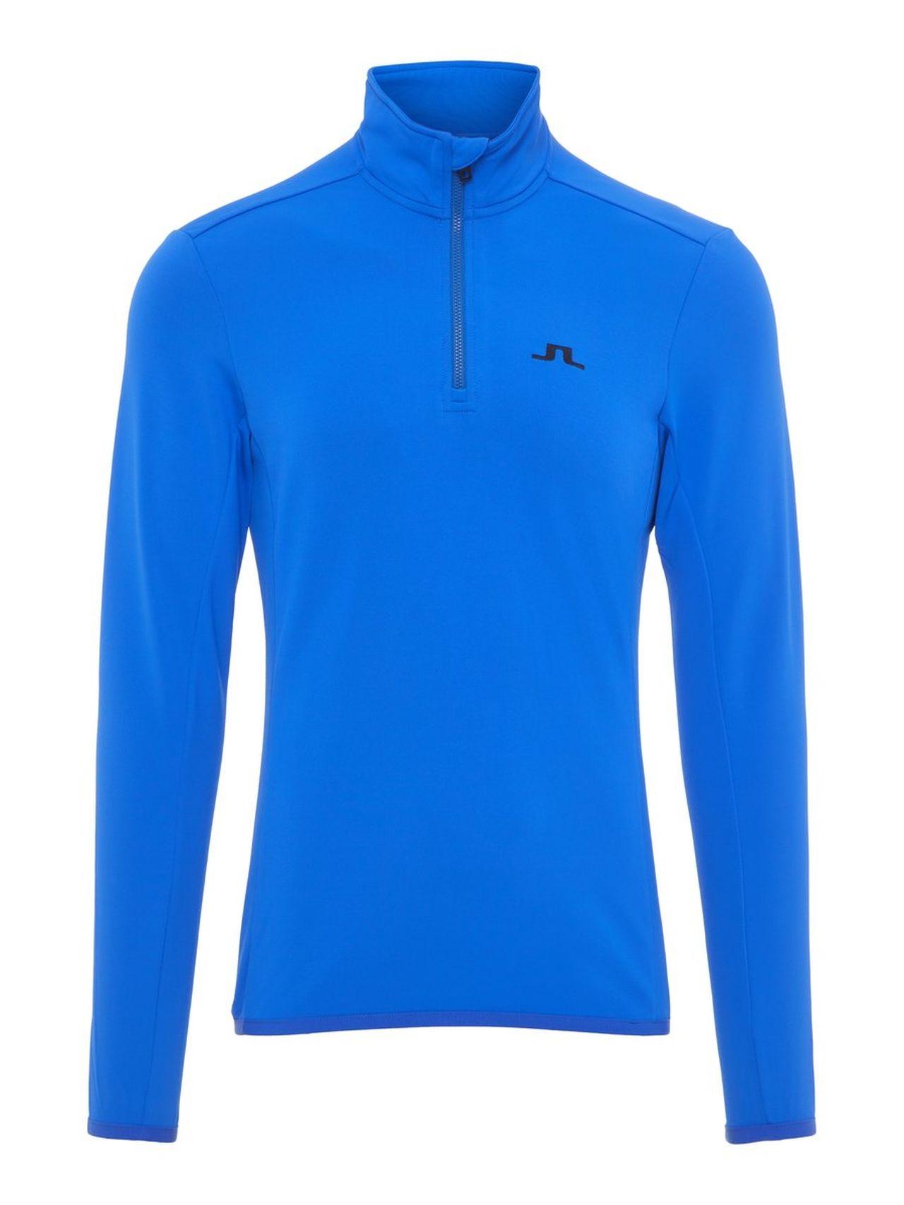 J.LINDEBERG Kimball Half Zip Fieldsensor Sweater Man Blå