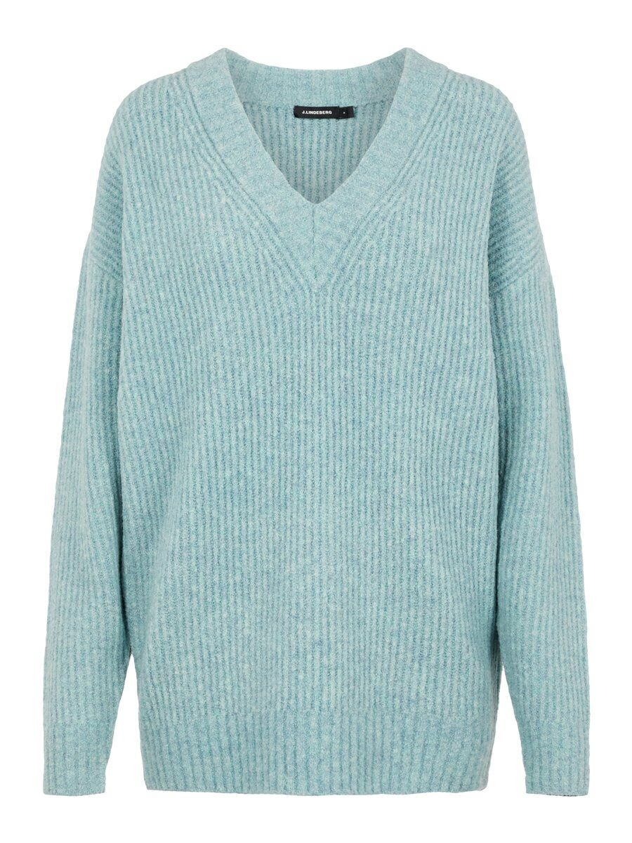 J.LINDEBERG Millie Soft Wool Sweater Kvinna Blå