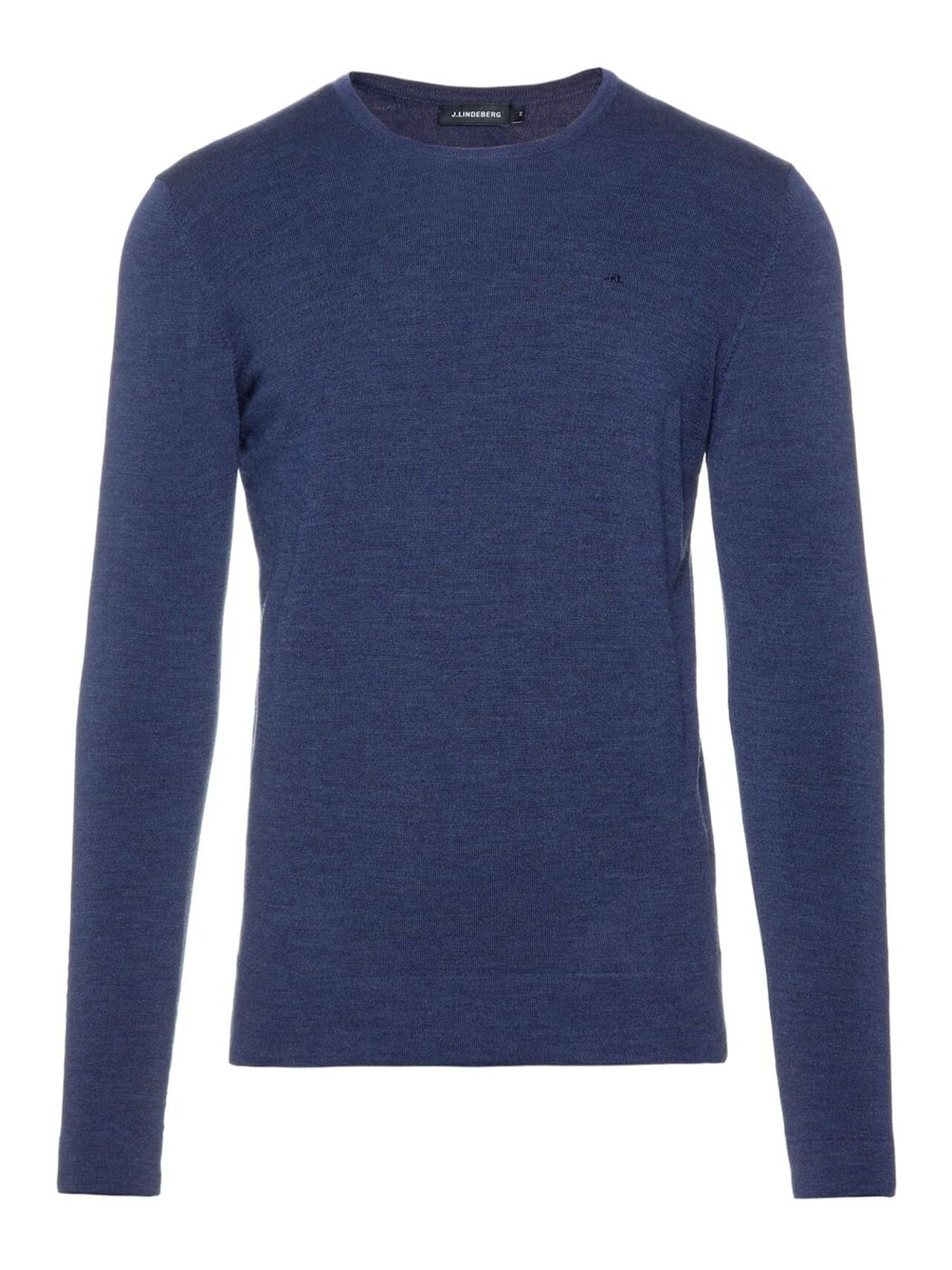 J.LINDEBERG Newman C-neck Perfect Merino Sweater Man Blå
