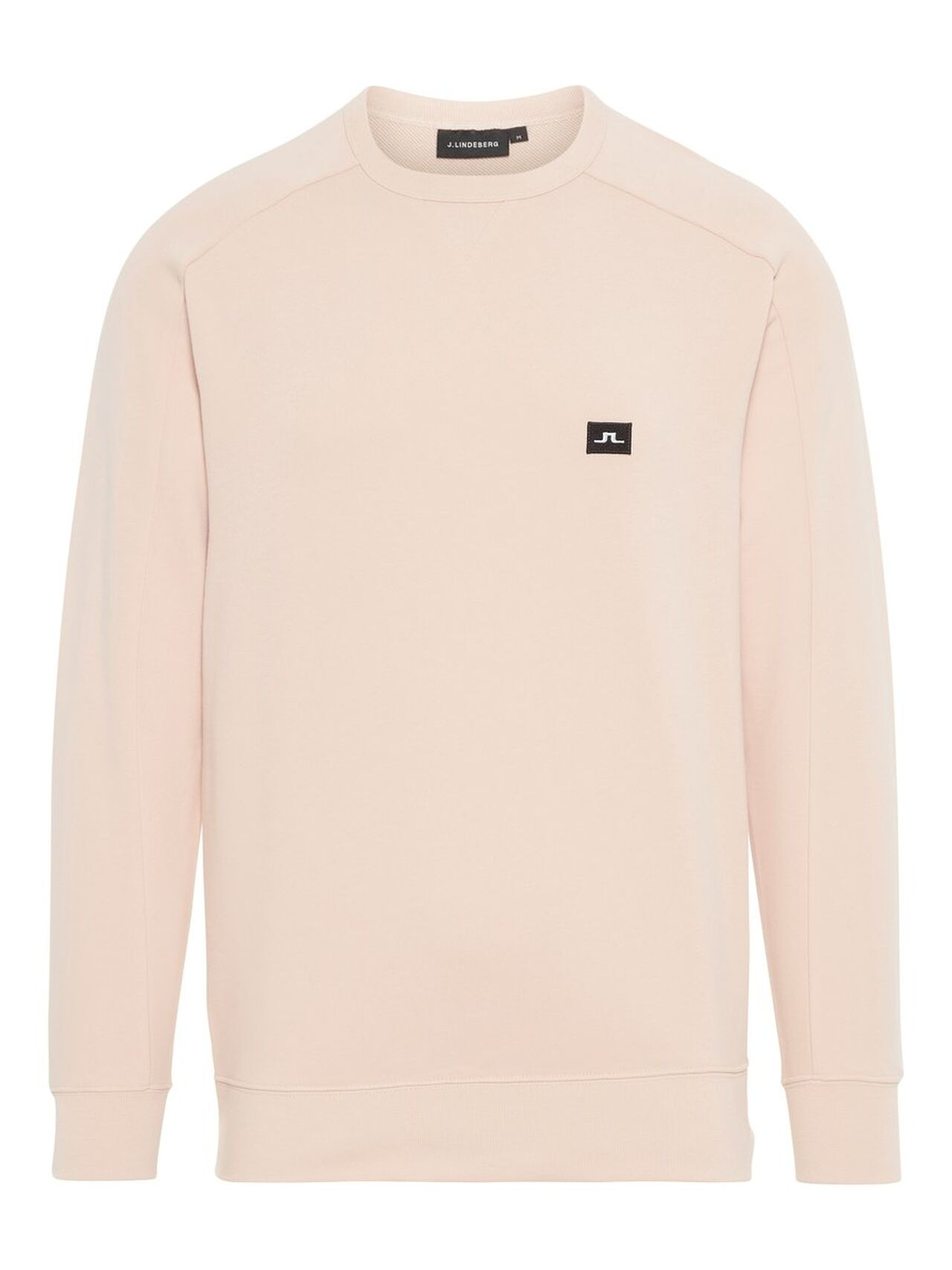 J.LINDEBERG Throw C-neck Sweater Man Beige