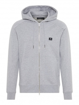 J.LINDEBERG Throw Zip Sweater Man Grå