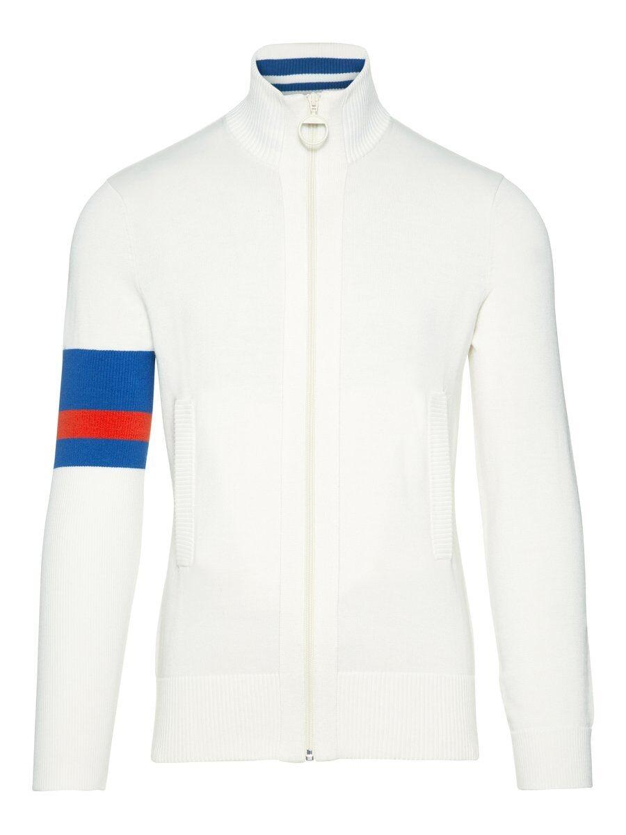 J.LINDEBERG Waine Cotton Coolmax Sweater Man White