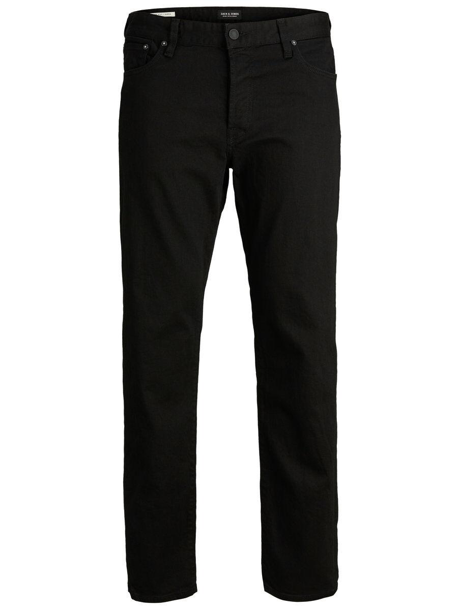 JACK & JONES Chris Icon Jos 842 Loose Fit-jeans Man Svart