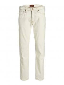 JACK & JONES Chris Original Am 986 Loose Fit-jeans Man White