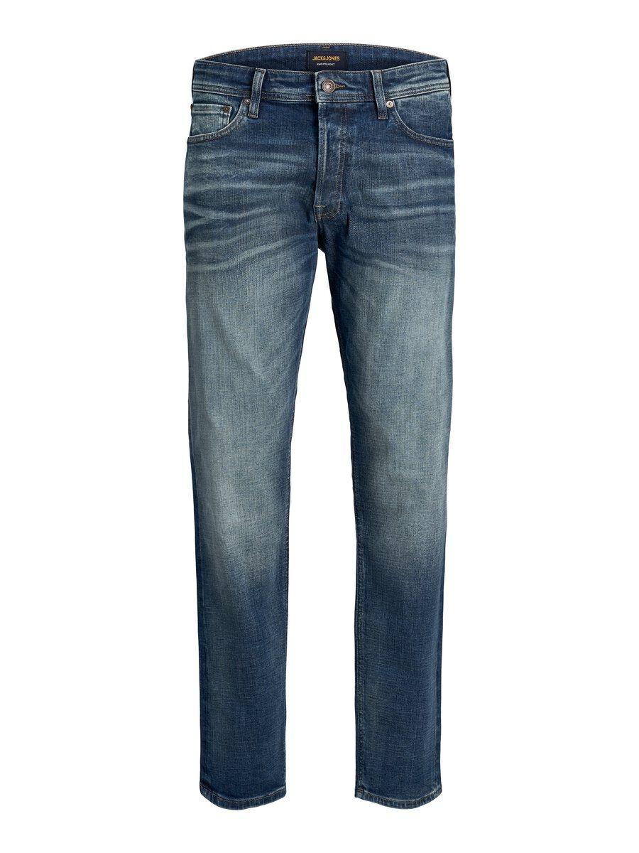 JACK & JONES Chris Original Jos 178 Loose Fit-jeans Man Blå