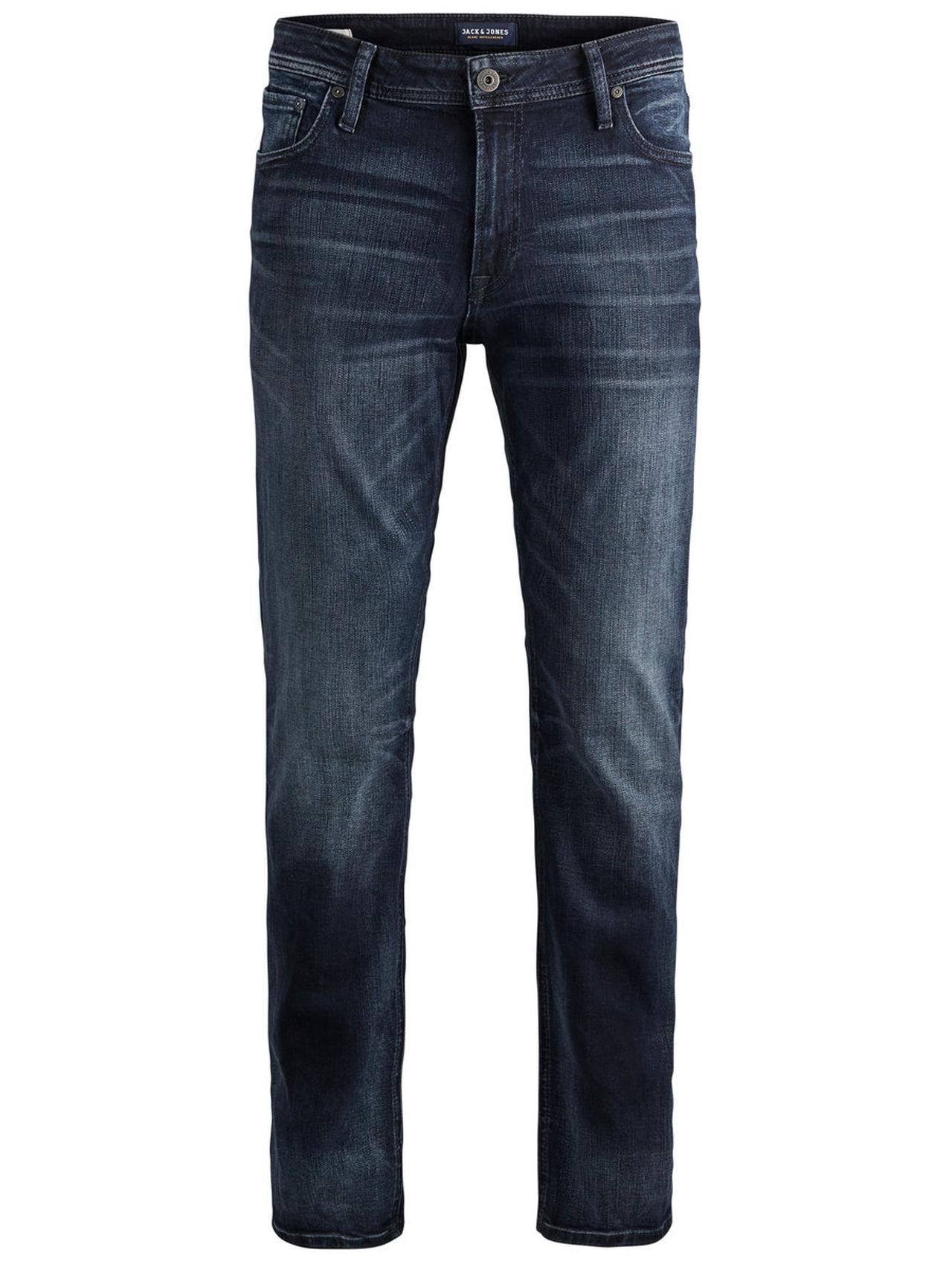 JACK & JONES Clark Original Zip Jos 319 Regular Fit Jeans Man Blå