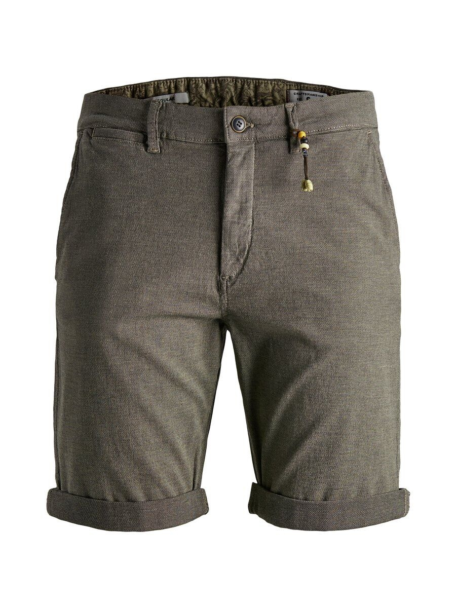 JACK & JONES Enkla Chinoshorts Man Grå