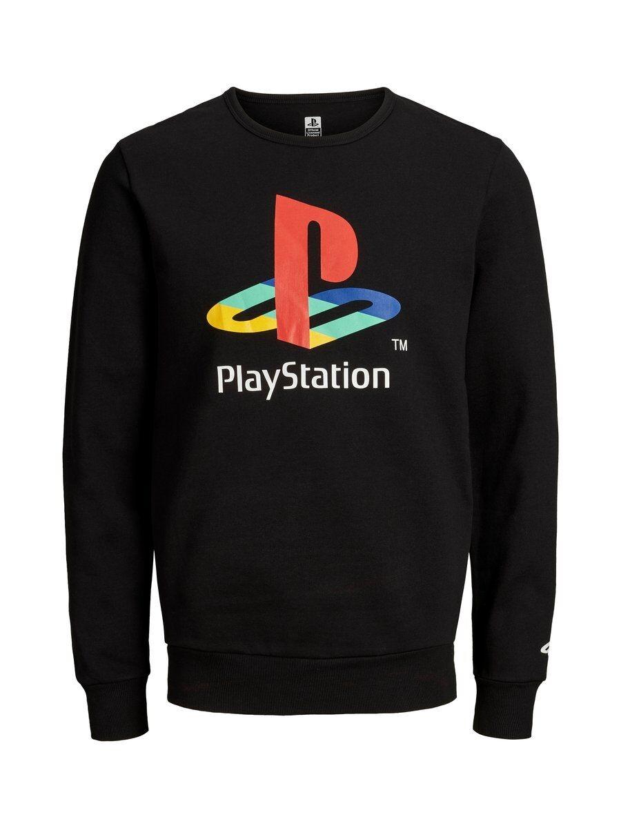 JACK & JONES Gaming-inspirerad Sweatshirt Man Svart