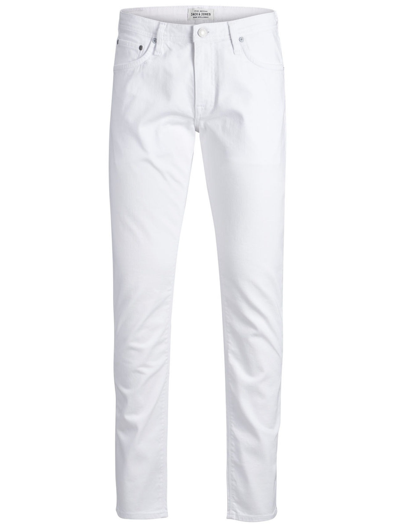 JACK & JONES Glenn Felix Jos 453 Slim Fit Jeans Man White