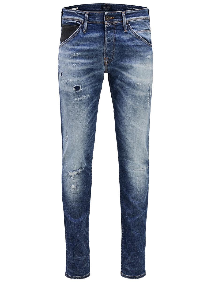 JACK & JONES Glenn Fox Bl 804 Slim Fit-jeans Man Blå