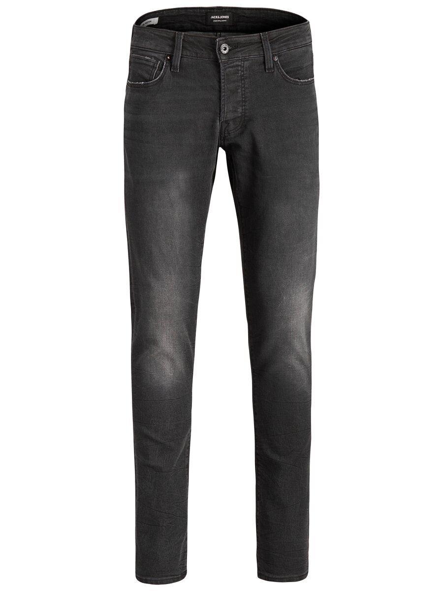 JACK & JONES Glenn Icon Cr 133 I.k. Slim Fit-jeans Man Svart