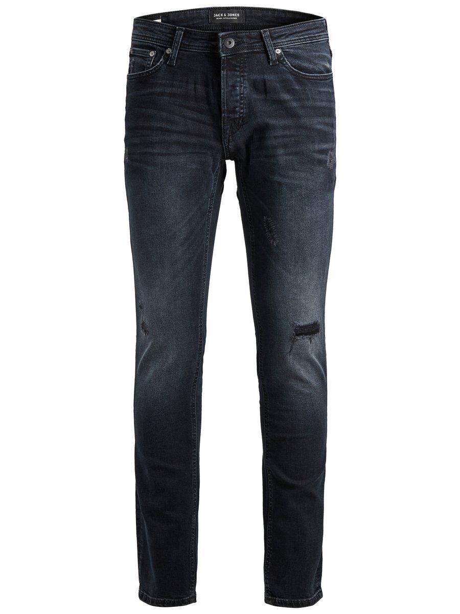 JACK & JONES Glenn Original Am 740 Slim Fit-jeans Man Svart