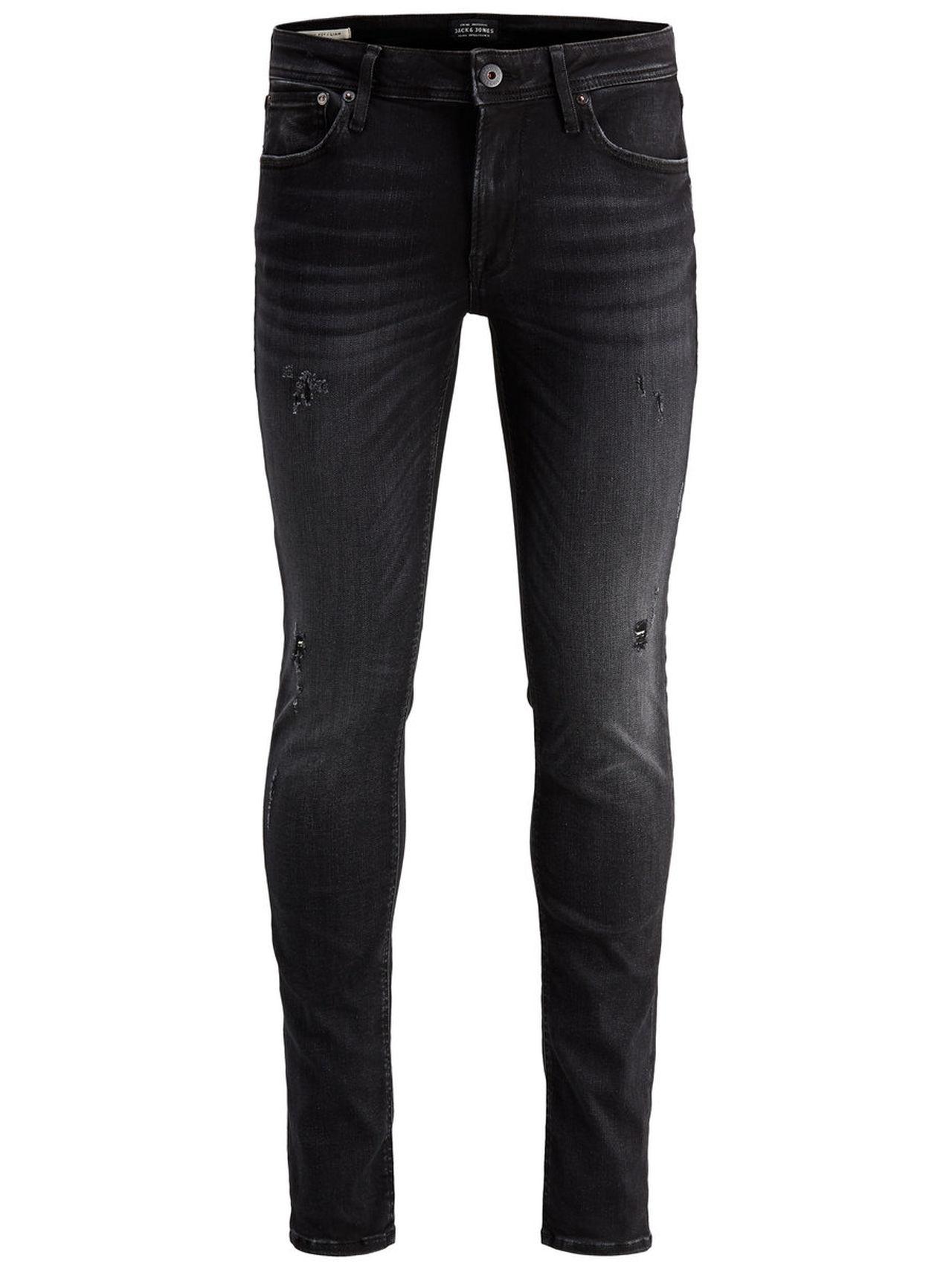 JACK & JONES Liam Original Jos 685 80sps Skinny Fit Jeans Man Svart
