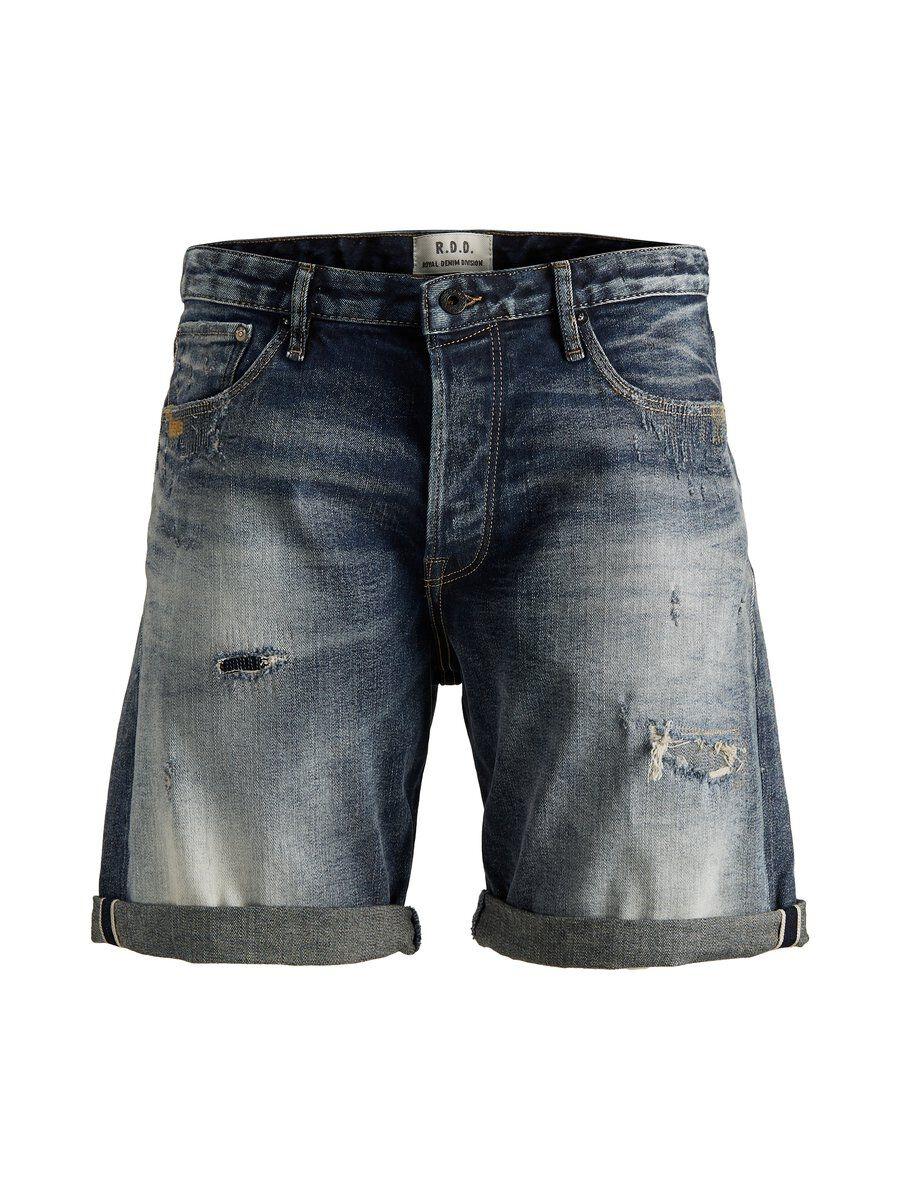 JACK & JONES Loose Fit R.d.d Jeansshorts Man Blå