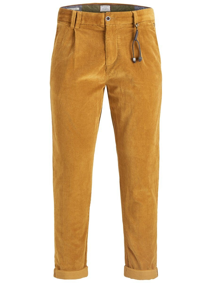JACK & JONES Manchestersydda Chinos Man Brun
