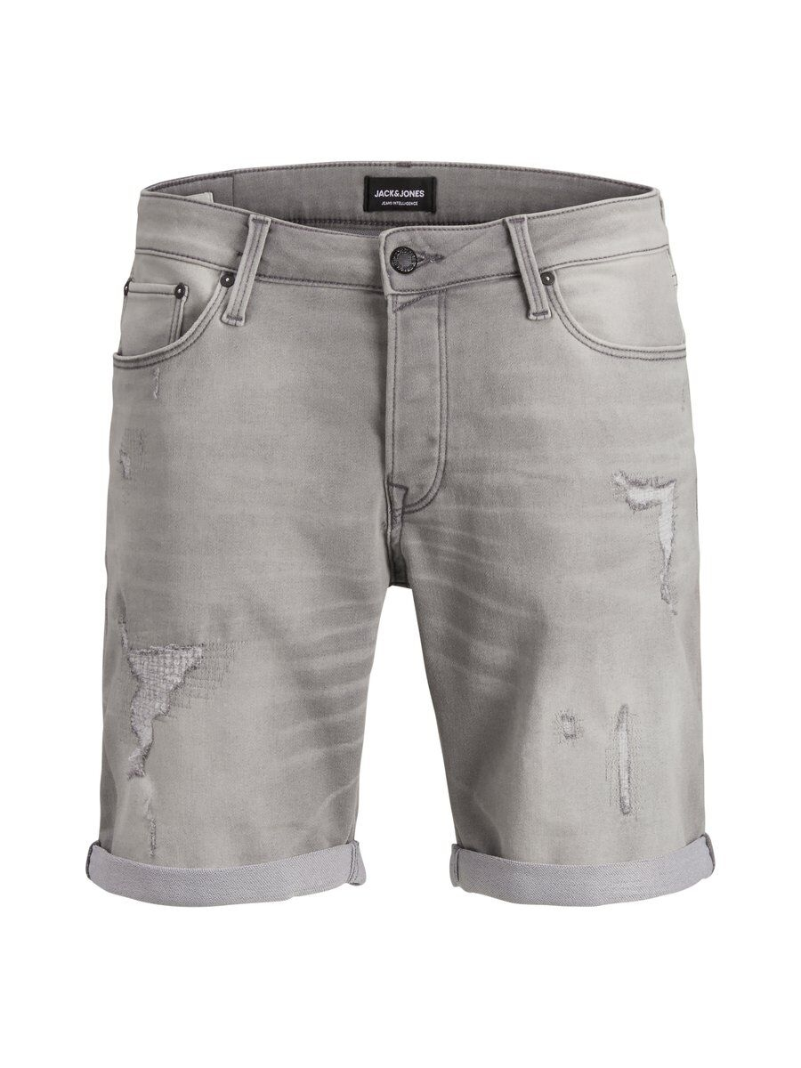 JACK & JONES Regular Fit Jeansshorts Man Grå