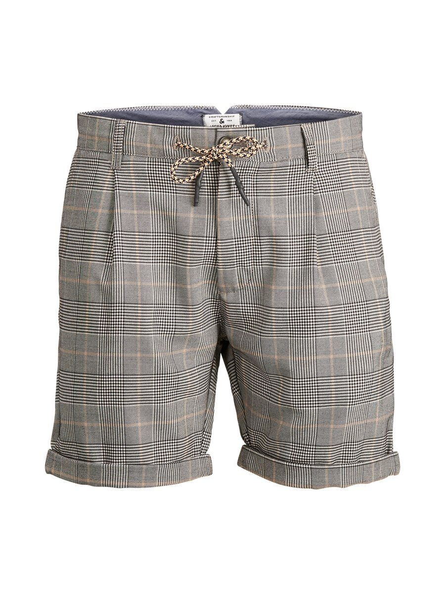 JACK & JONES Rutiga Chinoshorts Man Svart