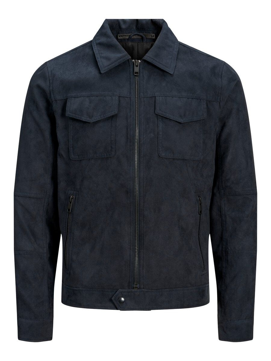 JACK & JONES Slim Fit Truckerinspirerad Jacka Man Blå