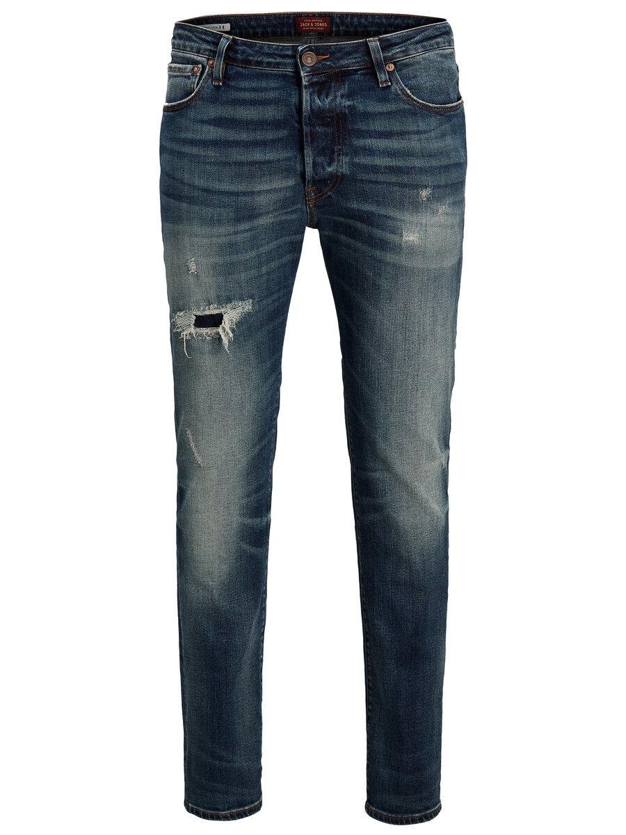 JACK & JONES Tim Page Bl 790 Aw24 Slim Fit-jeans Man Blå