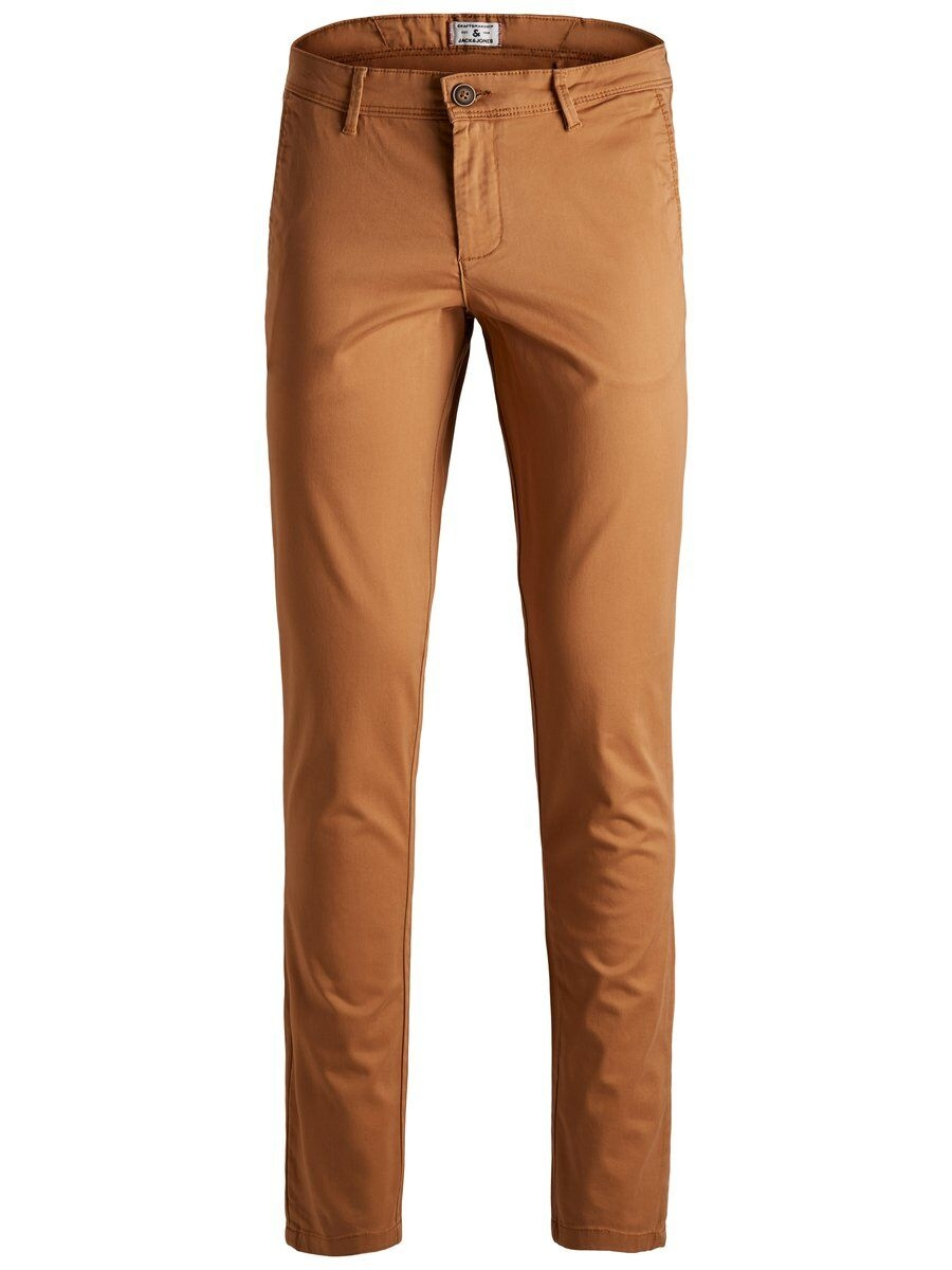 JACK & JONES Våranpassade Slim Fit Byxor Man Orange