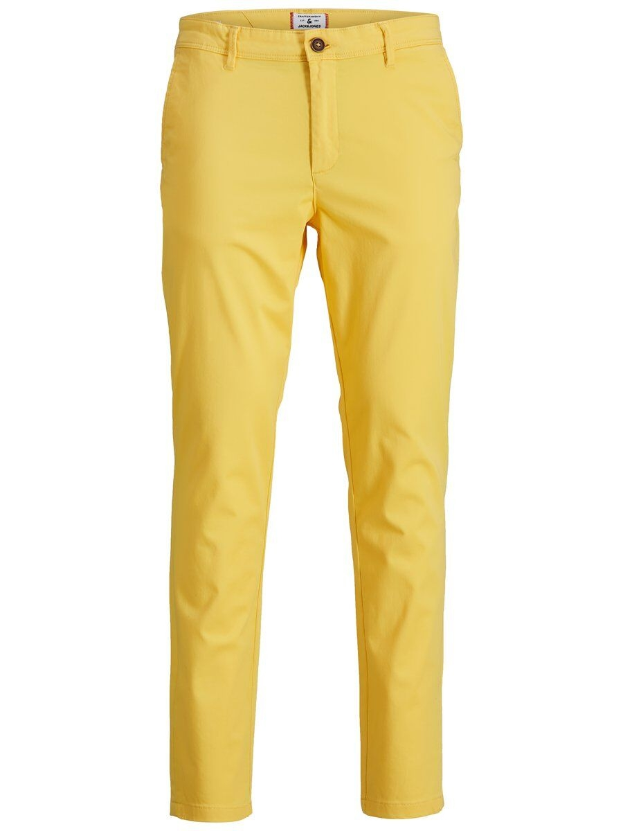 JACK & JONES Våranpassade Slim Fit Chinos Man Gul