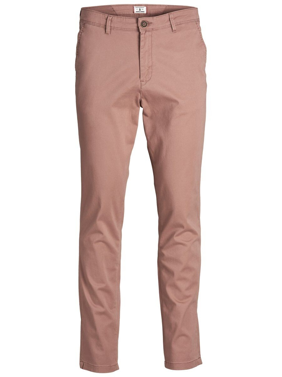 JACK & JONES Våranpassade Slim Fit Chinos Man Rosa