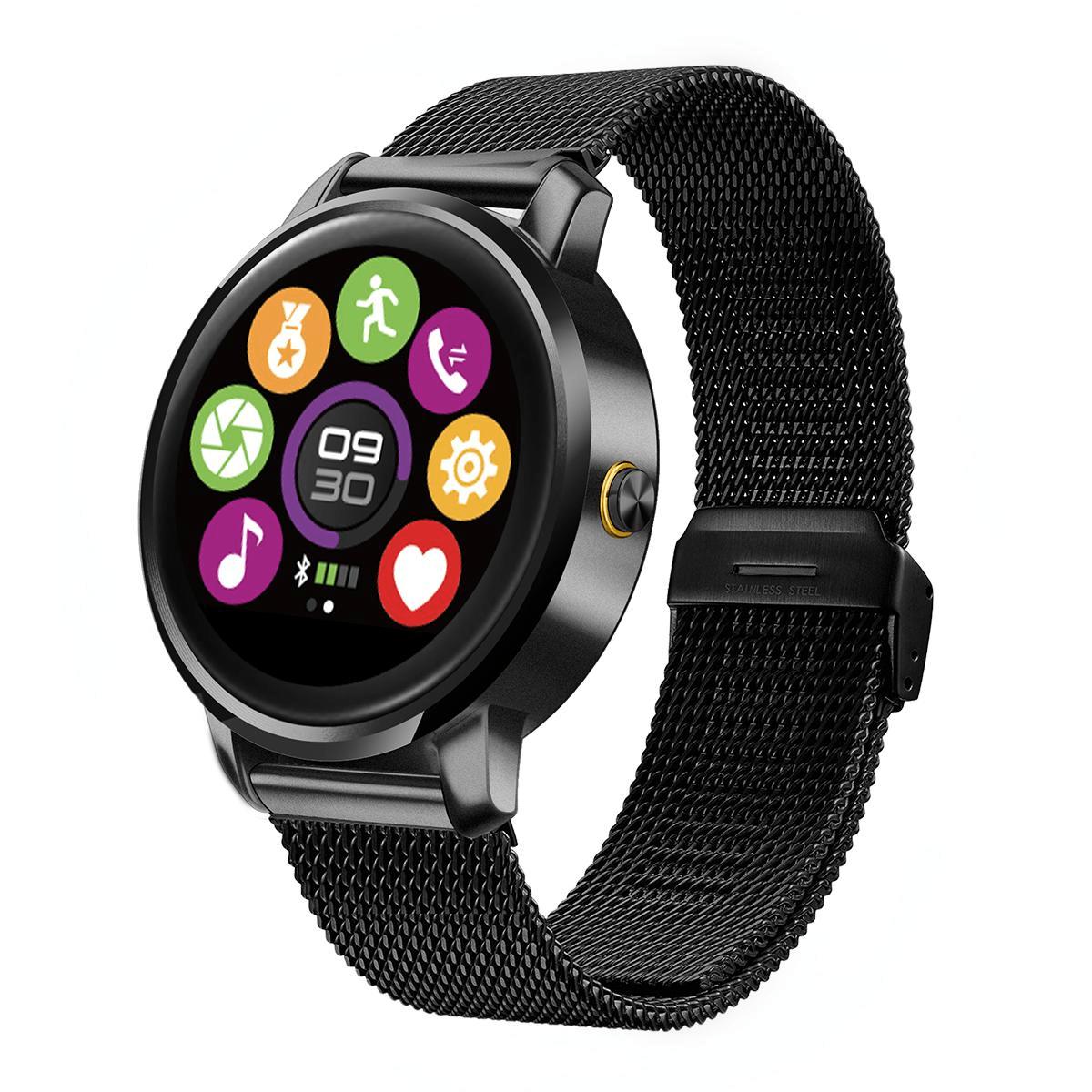 KALOAD M88H Smart Bluetooth Music Watch Pedometer Hjärtfrekvensmätare Fjärrkamera för Android IOS