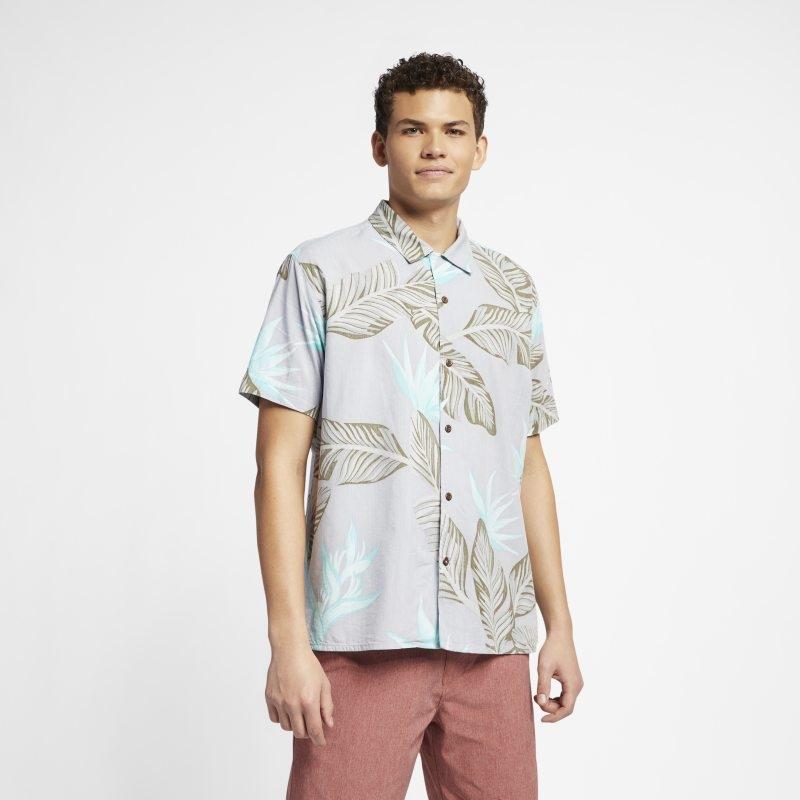 Kortärmad tröja Hurley Hanoi för män – Vit