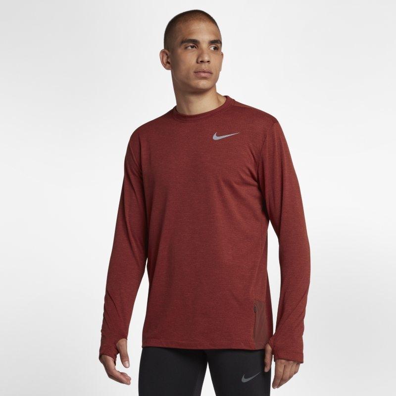 Långärmad löpartröja Nike Sphere Element 2.0 för män – Brun