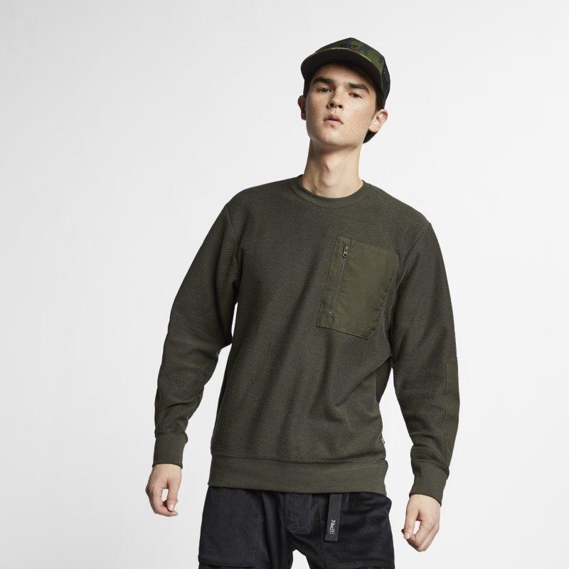 Långärmad skateboardtröja Nike SB för män – Olive