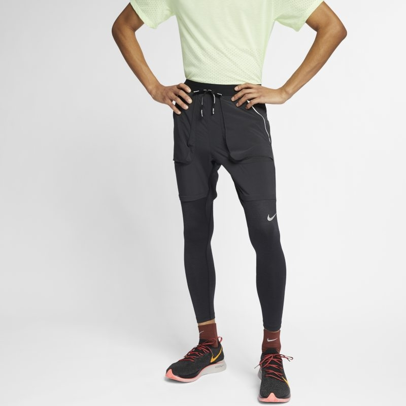 Löparbyxor Nike för män – Svart