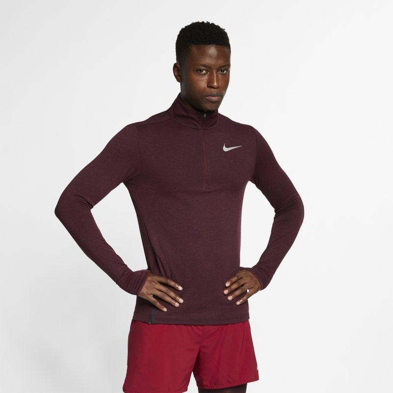 Löpartröja med halv dragkedja Nike Therma Sphere för män – Lila