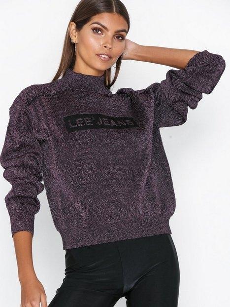 Lee Jeans Lurex Knit Stickade tröjor