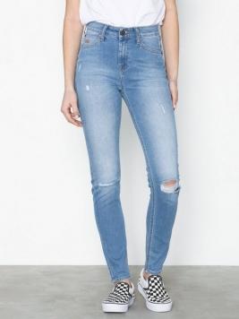 Lee Jeans Scarlett High Blue Slashed Skinny
