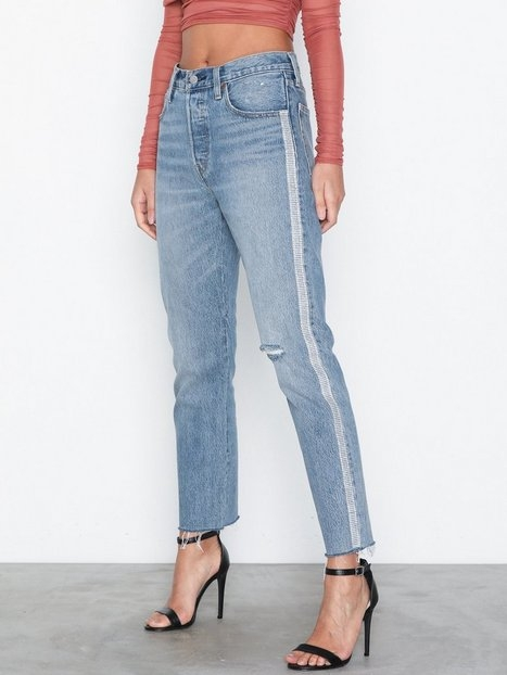 Levis 501 Crop Diamond In The Rough Straight