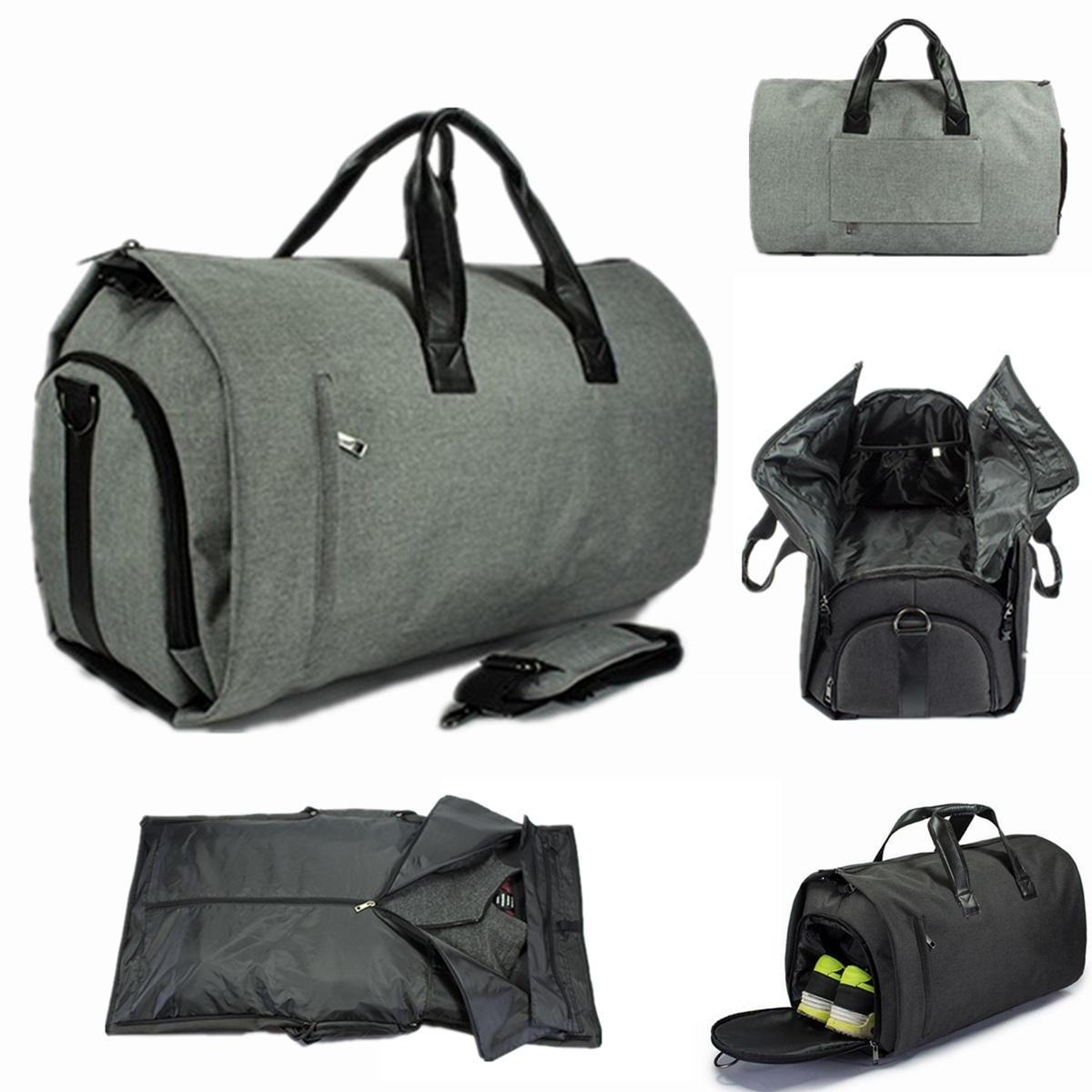 Män Business Travel Plagg Stor multifunktionell handväska Bagage Bag Duffle