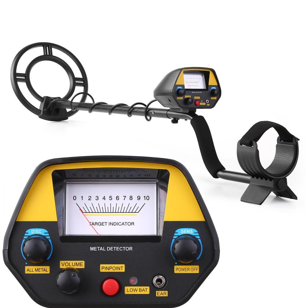 MD3031 Metal Detector Underground Treasure Hunter Professionell Guld Detektor med 3 driftlägen