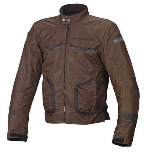 Macna Command Plus Motorcykel textil jacka Brun M