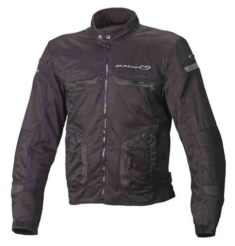 Macna Command Plus Motorcykel textil jacka Svart L