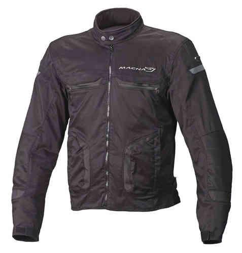 Macna Command Plus Motorcykel textil jacka Svart M