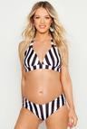 Maternity Nautical Stripe Bikini Set