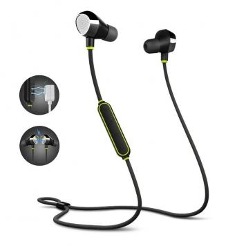 Mifo I8 trådlös stereo sport halsband örhängen magnetiska bluetooth 5.0 hörlurar IPX8 vattentäta hörlurar