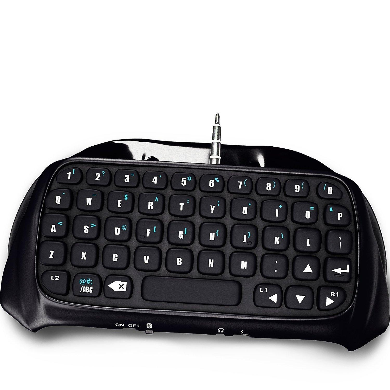 Mini bluetooth trådlöst tangentbordspel Handhållet tangentbord Gamepad för Sony Playstation 4 PS4 Spelkontroller