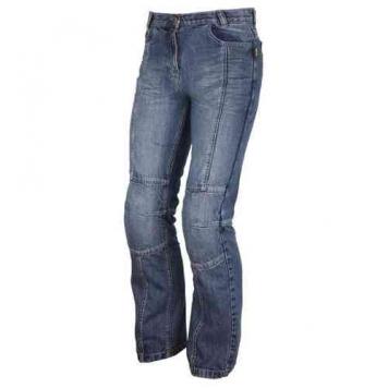 Modeka Nevada Damer Textil byxor Blå 34