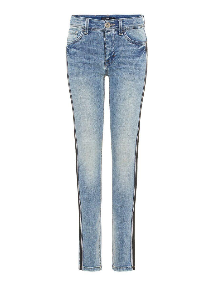 NAME IT Sidorandprydda Superstretchiga Skinny Fit-jeans Man Blå